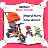 Neues Modell-Backen-Lack-Stahlrahmen-materielles Kind-Dreirad