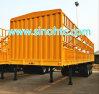 トレーラー60トンの牛家畜の、バルク貨物ユーティリティトレーラー