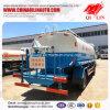 De Tankwagen van het Water van het Koolstofstaal met Lucht Werkend Platform