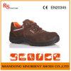 Precio de trabajo de los zapatos de seguridad de la ingeniería del cuero del ante de Deltaplus