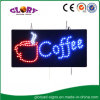 СИД Coffee Sign СИД Open Sign для кофейни
