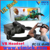 All 5.5 Inch Screen Mobile Phoneのための折るAwesome Head Mount Plastic Vr Virtual Reality Google Cardboard Vr Glasses Virtual Reality 3D Headsets