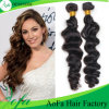 Essere umano Virgin Malaysian Hair Remy Weft di 100% per Natural Black