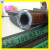 Boyau hydraulique du boyau 2sc du boyau 2sn de tresse de fil