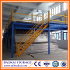 High Quality Storage Equipment Heavy Duty Use Q235 Steel Building with Mezzanine