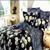 2010新しい到着の置かれる100%年の綿の反応印刷された寝具(1つの羽毛布団カバー、1つのシーツ、2つの枕カバー) (GFR-ND031)