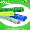 Boyau spiralé de pipe de jardin de poudre d'aspiration renforcé par plastique de PVC