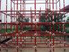 Système rapide d'échafaudage de serrure de tasse de serrure de pipe en acier