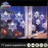 白いPVCワイヤー屋内クリスマスLEDの妖精のつららライト