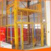 O elevador manual do trilho de guia para a carga usou-se