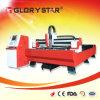 Tagliatrice del laser della fibra [di Glorystar] per il materiale d'acciaio del metallo del rame e dell'alluminio