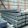 Torretta d'acciaio galvanizzata laminata a caldo del ferro in barre di angolo Q235