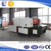 Máquina que corta con tintas hidráulica de la tela popular con la banda transportadora