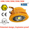 luz industrial del muelle de 10W-60W Atex LED