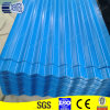 Couleur Coated Galvanized Corrugated Steel Sheet pour Roof
