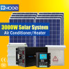Moge 3kw van Post van het Systeem van de Macht van de Wind van het Net de Hybride Zonne