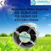 Ventilador axial industrial do refrigerador de ar da C.C. da C.A. de 150mm (F2E-162B/S-230)