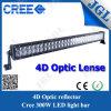 4D光学レンズの二重列288Wのクリー族LEDのライトバー