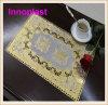 PVC Gold Lace Doily 30cmx46cm