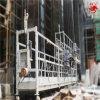 Plate-forme de fonctionnement suspendue provisoire dans la gondole