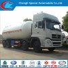 Dongfeng 12の車輪大きい容量35cbm LPGの堅いトラック