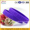Wristbands de goma del silicón, Wristband barato a granel de encargo del silicón