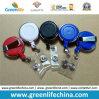 Agrafe escamotable ronde accessoire des bobines W/Rotated de lanière de crochet de Carabiner
