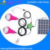 Luz solar del LED, iluminación interior, bulbo casero solar, sistema de energía solar