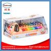 Stuk speelgoed van de Piano van de Regenboog van de Hond van het Beeldverhaal van het Instrument van de baby het Muzikale Dierlijke