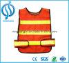 Veste visível elevada da segurança de tráfego para a estrada