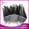 ブラジルの人間の毛髪のアフリカのカールの絹のBaceのレースのFrontal