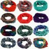 Signora Fashion Voile Loop Scarf Multi Printed Designs in Stock