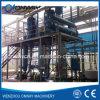 Planta Titanium do tratamento da água do desperdício do cristalizador da evaporação da película do vácuo do aço inoxidável