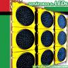 [300مّ] [لد] [ترفّيك سنل ليغت] أحمر أصفر اللون الأخضر أسطوانة