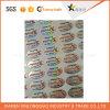 Anti collant de Anti-Contrefaçon faux d'hologramme de garantie de papier d'imprimerie d'étiquette