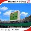 Estadio P6 que hace publicidad de la visualización de LED al aire libre de la instalación fija