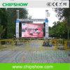 Chipshow P10 che fa pubblicità al tabellone per le affissioni dell'esposizione LED in Grecia