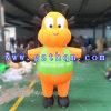 Marche gonflable de dessin animé de mollet modèle/la publicité du dessin animé gonflable promotionnel