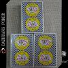 Cartões personalizados do póquer do resplendor real para o casino
