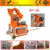 Hydraulischer Lehm-blockierenblock-Maschine der Deutschland-Technologie-Sy1-20 in Afrika