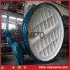 Form-Stahl flanschte Drosselventil