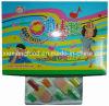Lollipop del gelato + gomma da masticare (XH09)