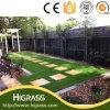 Plancher à la maison de décoration de gazon aménageant la pelouse artificielle de jardin