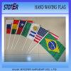 Ручные флаги, флаги печати, печать флага
