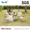 정원 차리는 대리석 테이블 고정되는 등나무 식탁 (ES-OL079)