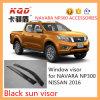 Pare-soleil de moulage de fenêtre injection pour le bouclier de pluie de fenêtre de déflecteur de vent de Sun de pare-soleil de porte de collecte des accessoires Nissan4d de Navara Np300