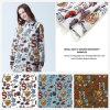 Tela de materia textil impresa manera del hogar de la tela de la ropa del poliester