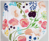 ふさが付いている綿によって印刷される花の円形のビーチタオル