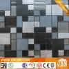 바 Wall Aluminum, Stone 및 Glass Mosaic (M855055)