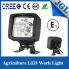 Luz de trabajo cuadrada de la agricultura LED de la lámpara 12V 18W del carro LED